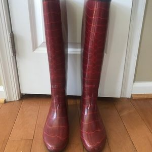 Shoes - Knee High rain boots